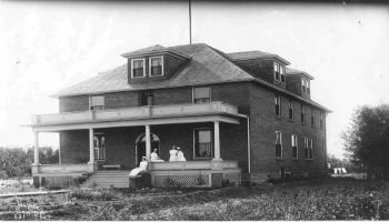 Red Deer Archives, P113; Red Deer Memorial Hospital, 1912