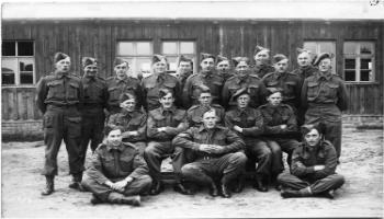 Red Deer Archives, P420; Prisoners of war from central Alberta in Germany, 194?