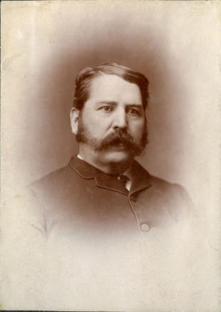 Red Deer Archives, P6298: William Henry Cottingham, ca. 1885