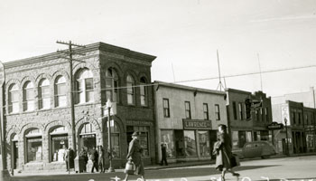 Photo of Greene Block circa 1930s