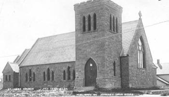 St. Luke's Anglican Church - ca.1910 - Red Deer Archives p-125-c-2-1