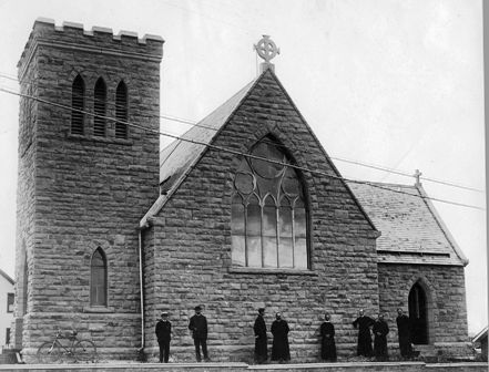 St. Luke's Anglican Church - 1907 - Red Deer Archives p-362-18-3