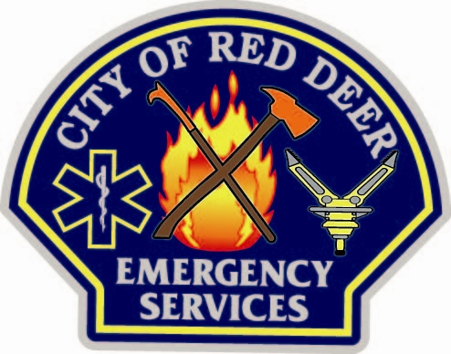 Red Deer Emergency Services Logo