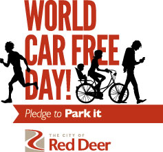 World Car Free Day - The City of Red Deer