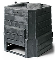 Image of composting container called a soil saver