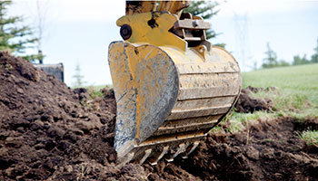backhoe digging services