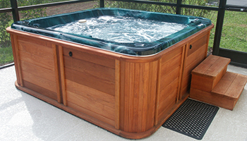 picture of a hot tub jacuzzi