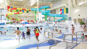 Collicutt Centre Pool overview