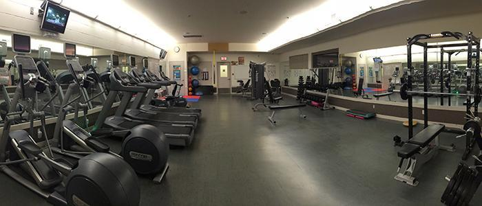 Recreation Centre - exercise room/weight room